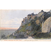 UK Scotland Sterling, Sterling Castle Postcard 1906