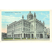 Cuba, Havana Presidential Palace 1930s Postcard Photo Type