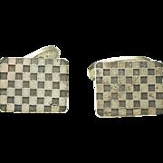 GEORG JENSEN Sterling Silver 925 Cufflinks #113 by Flemming Eskildsen DENMARK