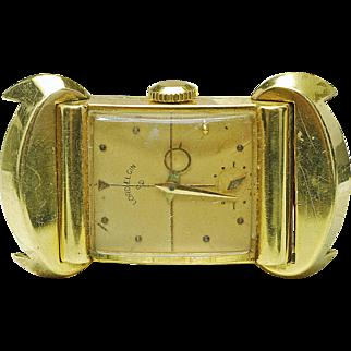Ultra Rare Vintage Elgin 18k Yellow Gold 50 Million Limited edition men's Wrist Watch Original 1951