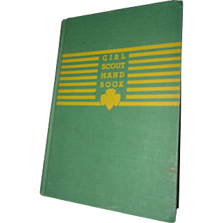 1943 Girl Scout Book Hard Back