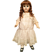 """Angelic 26"""" German Bisque Child 630 by Alt Beck & Gottschalk"""