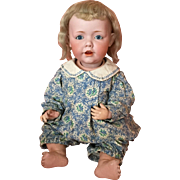 "Stunning 17"" Kestner Hilda Baby German Bisque Doll - Excellent Example!"