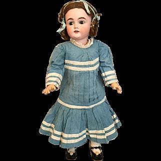 "Luminous 23"" Kestner 167 German Bisque Child Doll"