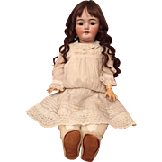 "Lovely 29"" Simon and Halbig 1079 German Bisque Child"