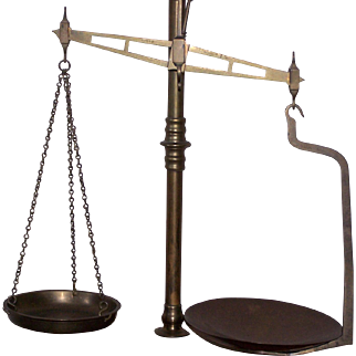 May Roberts & Co. Brass Scale