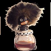 Vintage Golliwog French Perfume Bottle Vigny Miniature