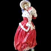 Vintage Royal Doulton Christmas Morn Figurine 1946