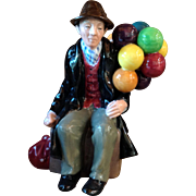 Vintage Royal Doulton The Balloon Man Figurine HN 1954
