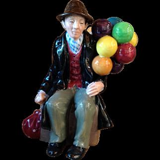 Vintage Royal Doulton The Balloon Man Figurine HN 1954
