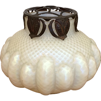 Art Nouveau Kralik Art Glass Vase