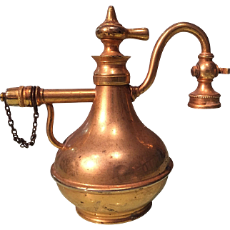 End of 19th Century Brass Atomiser