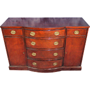 Drexel Mahogany Georgian Side Cabinet Bufet Console Sideboard Chest Server