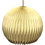 RARE LE KLINT DENMARK Mid Century Modern Lamp Shade Fixture Chandelier Lighting