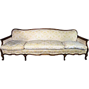 """Large 87""""W WIDDICOMB Mid Century French Provincial Sofa Loveseat Chaise Chair"""