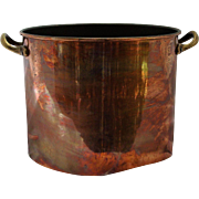 Copper Stock Pot 16 Cup No Stick Lining