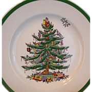 Set of 8  Copeland Spode Christmas Tree Salad Plates England