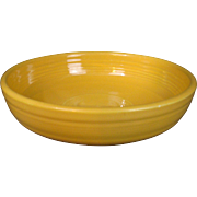 "Vintage Fiesta 6"" Dessert Bowl in Original Yellow"