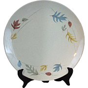 "Autumn Leaves By Franciscan Dinner Plate 9"" New Old Stock"