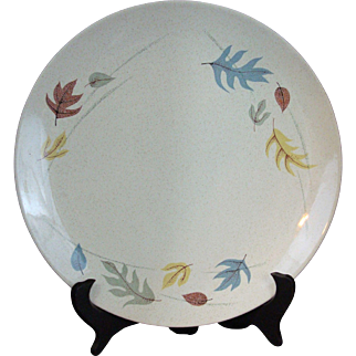 """Autumn Leaves By Franciscan Dinner Plate 9"""" New Old Stock"""