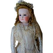 Beautiful Barrois fashion doll in bride outfit