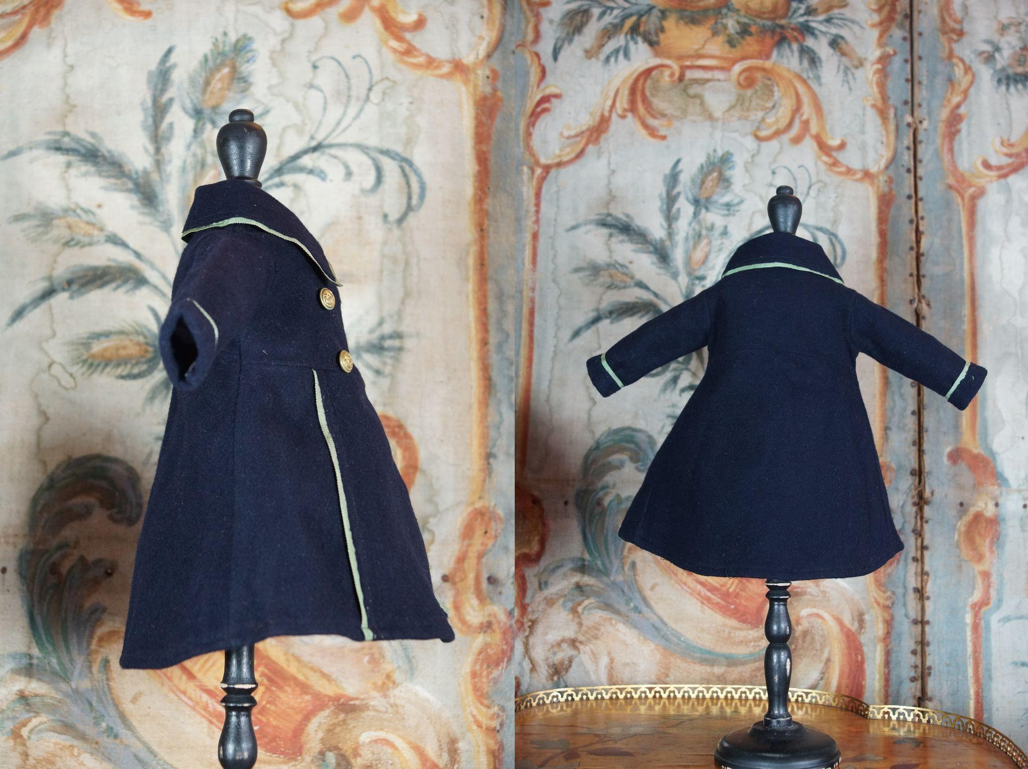 Very Beautiful Coat For French Bebe Size 8 9 From La