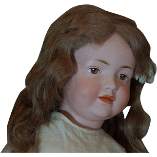 Beautiful & Antique Kley & Hahn Character Doll unusual Mold 531.