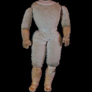 Unusual Articulated Bebe Gesland body Gaultier Size 6