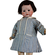 """17"""" Adorable French character BEBE SFBJ 252 Pouty with his trousseau."""
