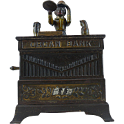 Organ Bank Cat & Dog  Mechanical Bank