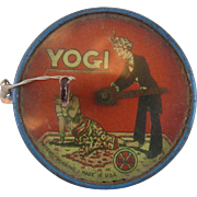 Dexterity Puzzle Yogi cutting head off Woman with sword by Marx