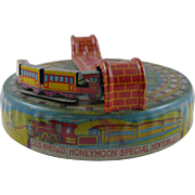 Marx Lithographed Honey Moon Special Tin Toy