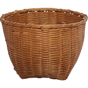 "Antique Shaker ""cat's head"" basket"