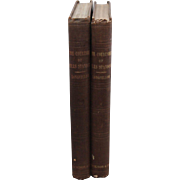 The Courtship of Miles Standish by Henry Wadsworth Longfellow (early edition 1859); 2 volumes