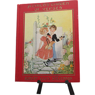 A Child's Garden of Verses by Robert Louis Stevenson (1929 illustrated edition)