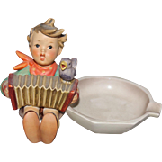 Hummel Ashtray Figurine Number 114 Let's Sing
