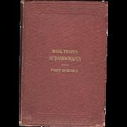 Mark Twain's Autobiography & First romance