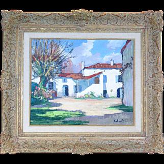 Gaston Balande (1880-1971) French, Farm