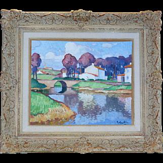 Gaston Balande (1880-1971) French, Landscape