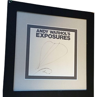 Andy Warhol Exposure with all authentication documents
