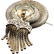 Tasseltastic! Multi-Layered Late Victorian Orientalist Brooch with Incredible Enamelwork