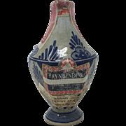 Delft Liquor Bottle, Rynbende, 1960
