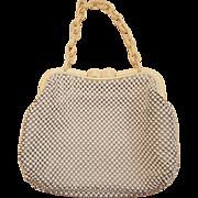 Whiting and Davis Enameled Mesh Handbag