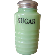 Jadeite Sugar Shaker Depression Glass