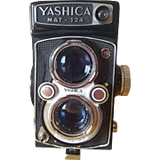 Yashica MAT-124 Camera Circa 1950's Made In Japan