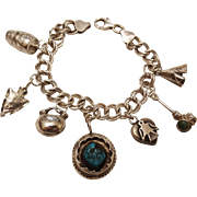 Native American Themed Charm Bracelet
