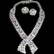Vintage Kramer Demi parure Kramer Necklace & earrings