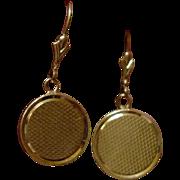 Vintage 14k Tiffany & Co Button Earrings
