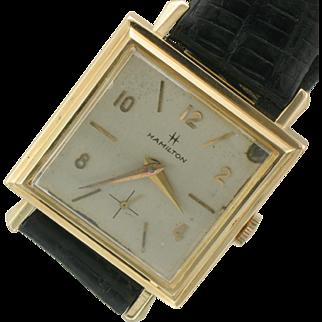 14K Gold Vintage Hamilton Watch- 1930-1940