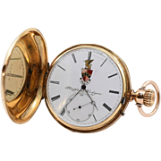 1920's 18K Solid Gold Pocket Watch